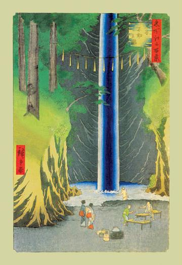 "Buyenlarge 02713-4CG28 Waterfall 28"" x 42"" Giclee on Canvas"