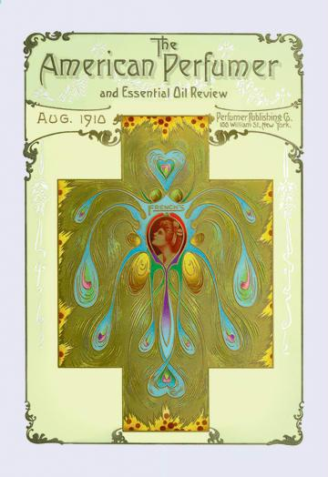 American Perfumer and Essential Oil Review August 1910 28x42 Giclee On Canvas