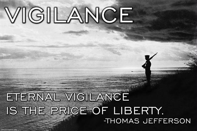 "Buyenlarge 22246-8CG28 Vigilance 28"" x 42"" Giclee on Canvas"