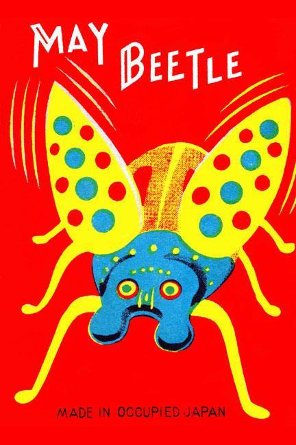 """Buyenlarge 22468-1CG28 May Beetle 28"""" x 42"""" Giclee on Canvas"""