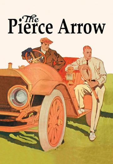 The Pierce-Arrow 12x18 Giclee On Canvas