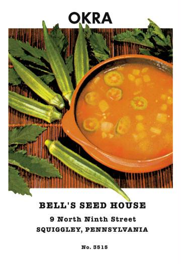 Buyenlarge 02596-4CG12 Okra 12 x 18 Giclee Print On Canvas Orka, Okra Seeds, Okra Seed, Seeds, Okra Plants, Vegetable Seeds, Vegetable Plants, Garden Seeds