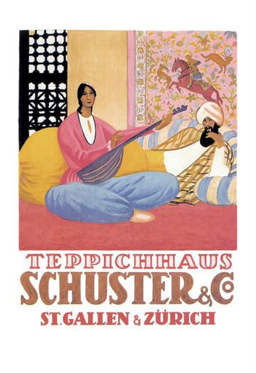 Schuster and Company 12x18 Giclee On Canvas