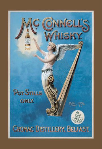 McConnell's Whisky 12x18 Giclee On Canvas