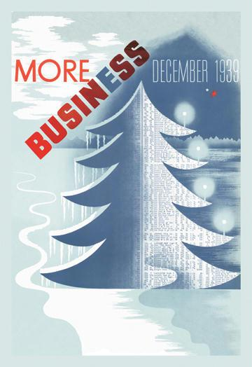 Christmas Means Business 12x18 Giclee On Canvas