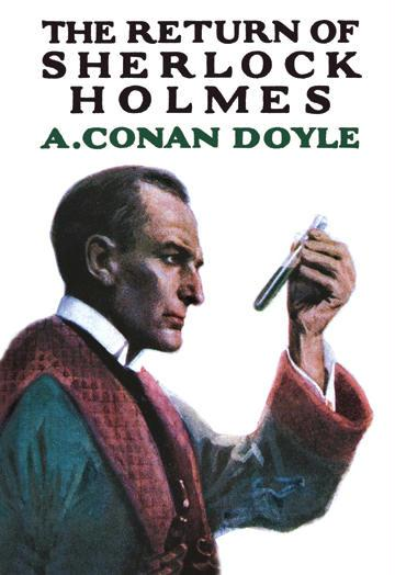 The Return of Sherlock Holmes No.1 - book cover - 12x18 Giclee On Canvas