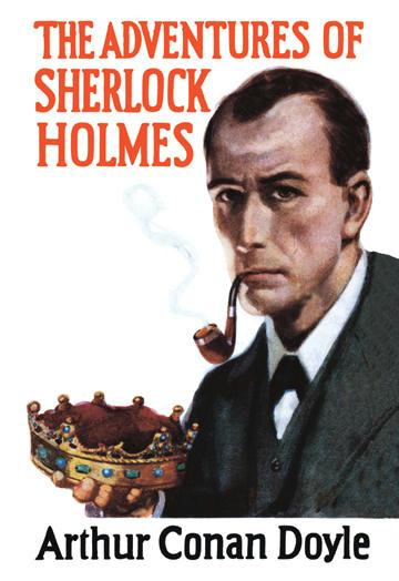 Sherlock Holmes Mystery - book cover - 12x18 Giclee On Canvas