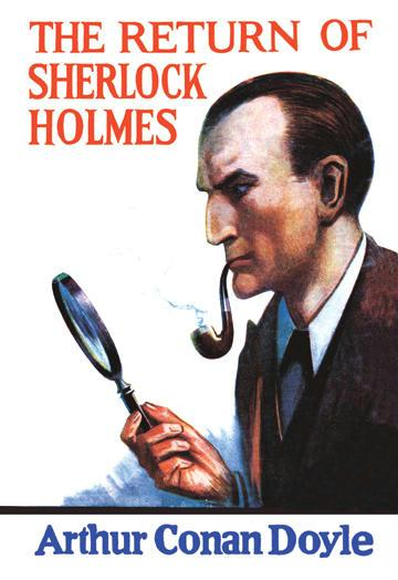 The Return of Sherlock Holmes No.2 - book cover - 12x18 Giclee On Canvas