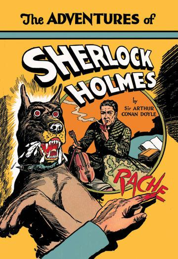 The Adventures of Sherlock Holmes No.1 12x18 Giclee On Canvas