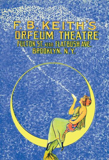 Orpheum Theatre 12x18 Giclee On Canvas