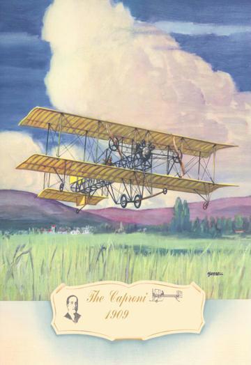 The Cuproni 1909 12x18 Giclee On Canvas