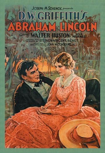 D.W. Griffith's Abraham Lincoln 12x18 Giclee On Canvas
