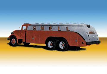 """Buyenlarge 14026-7CG12 Snell Truck 12"""" x 18"""" Giclee on Canvas"""