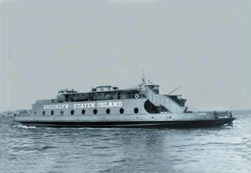 69th Street Ferry 12x18 Giclee On Canvas
