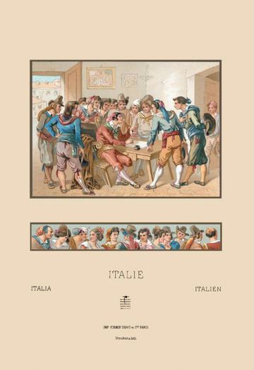 Italian Styles of the Nineteenth Century 12x18 Giclee On Canvas