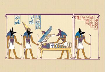"Buyenlarge 14987-6CG12 Anubis 12"" x 18"" Giclee Print On Canvas"