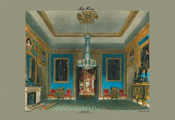 Ante Room - Carlton House - Looking North - 12x18 Giclee On Canvas