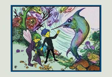 A Hole in Fairyland 12x18 Giclee On Canvas