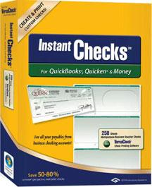 Instant Checks No.1000 Business Green 250 - Windows 98SE  ME  2000  XP  Vista