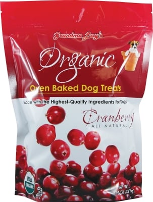 GL22015 Organic Baked Cranberry Treats