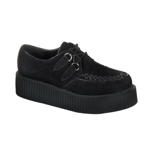 Demonia Creeper-402S 2 Inch Platform Basic Suede Creeper Shoe Size 11
