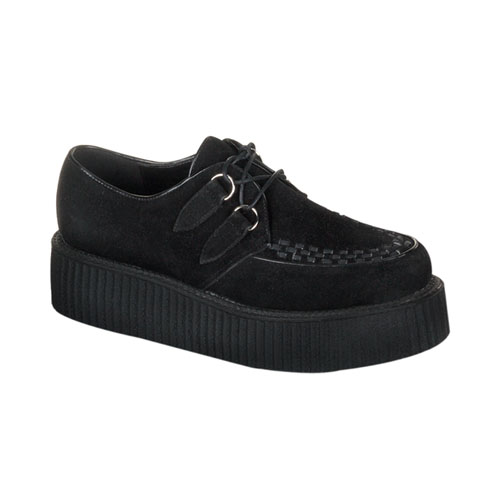 Demonia Creeper-402S 2 Inch Platform Basic Suede Creeper Shoe Size 9