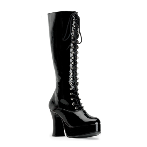 Funtasma Exotica-2020 4 Inch Heel Platform Lace Up Boot Size 9