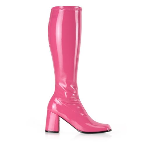 Funtasma Gogo-300 3 Inch Block Heel St Boot Size 8