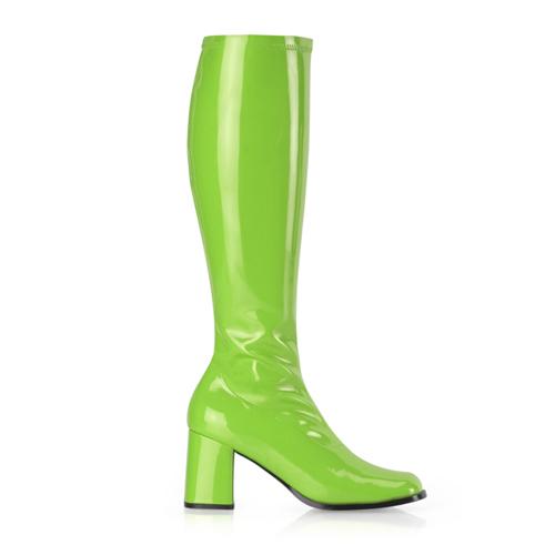 Funtasma Gogo-300 3 Inch Block Heel St Boot Size 9