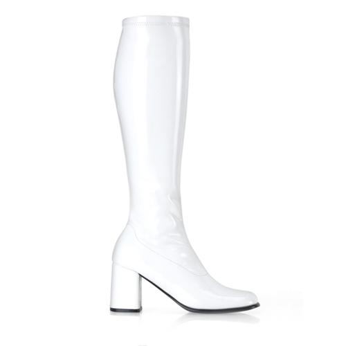 Funtasma Gogo-300 3 Inch Block Heel St Boot Size 10