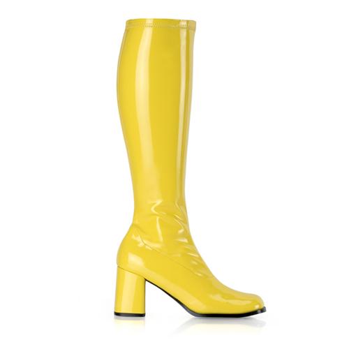 Funtasma Gogo-300 3 Inch Block Heel St Boot Size 16