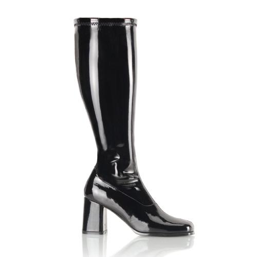 Funtasma Gogo-300Wc 3 Inch Block Heel Wide St Boot Size 14