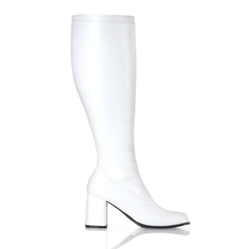 Funtasma Gogo-300Wc 3 Inch Block Heel Wide St Boot Size 8