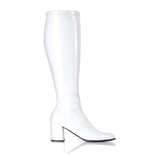 Funtasma Gogo-300Wc 3 Inch Block Heel Wide St Boot Size 10
