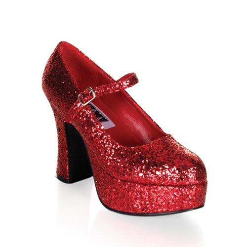Funtasma Maryjane-50G Chunky Heel Mary Jane Platform Pump Size 10