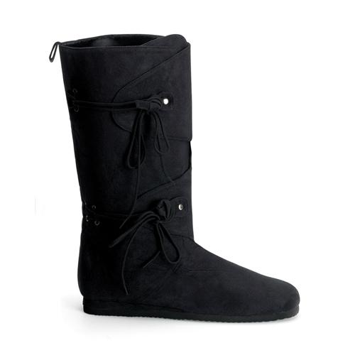 Funtasma Renaissance-100 Men S Black Microfiber Renaissance Boot Size L