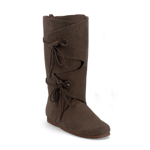 Funtasma Renaissance-100 Men S Brown Microfiber Renaissance Boot Size L