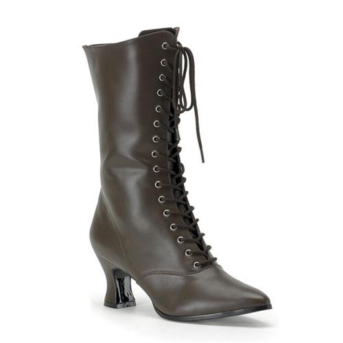 Funtasma Victorian120 Brown Pump Women S Victorian Boots 2.75 Inch Size 9