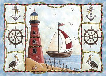 Custom Printed Rugs LIGHTHOUSE Lighthouse Rug