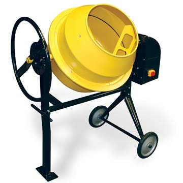 Buffalo Tools CME35 3.5 Cubic Foot Electric Cement Mixer