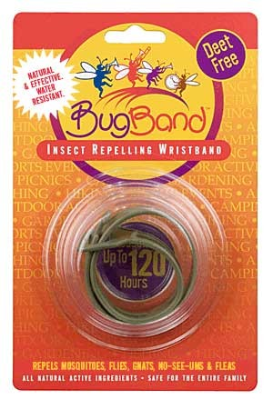 Bug Band 88200 Original Green Blister Card Wrist Bands