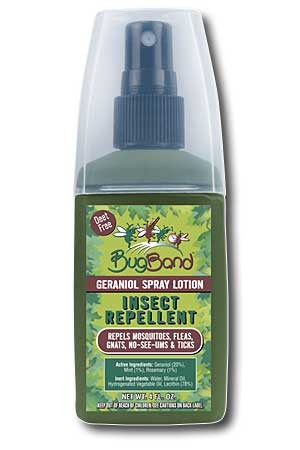 Bug Band 88334 Pump Spray Bottle - 4 Ounce - Camouflage