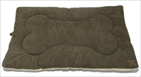 Best Pet Supplies MT863XL Pet Crate Mat in Olive Green Faux Suede - X-Large