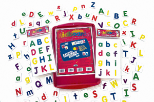 Barker Creek LM-2402 Learning Magnets Kid ABCs Activity Kit