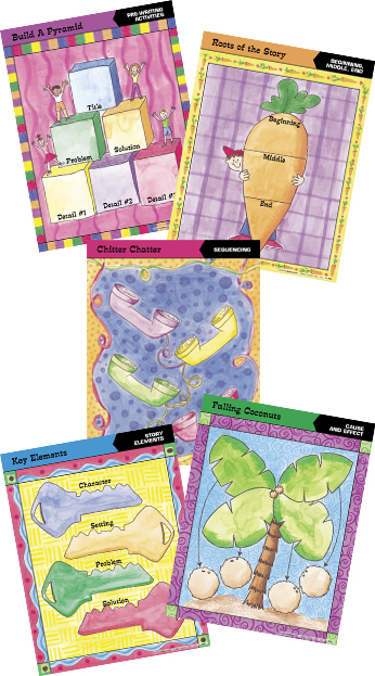 Barker Creek LL-504D Graphic Organizer Chart - Set 2