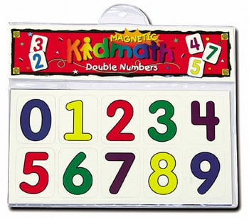 Barker Creek LM-1305 Learning Magnets - KidUSA Double Numbers
