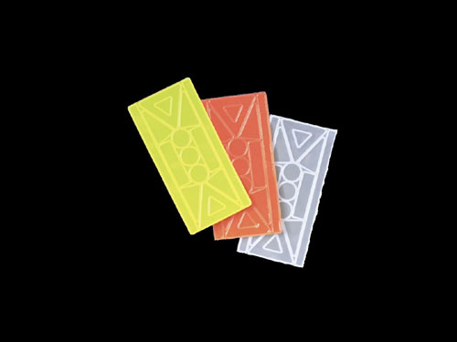 Bright Ideas RS4WHelmet and Bike Reflective Tapes - White