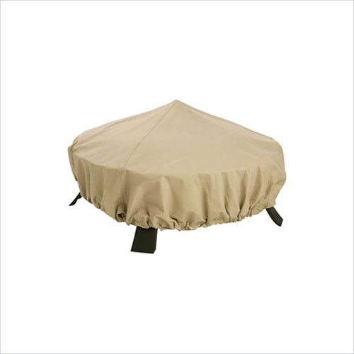 Classic Accessories 58992 Fire Pit Cover in Tan CLSS464
