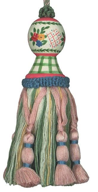 123 Creations C201G.7.5 Inch Carolyn Green Tassel