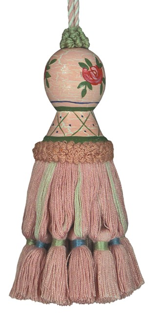 123 Creations C202R.5.5 Inch Laura Rose Tassel